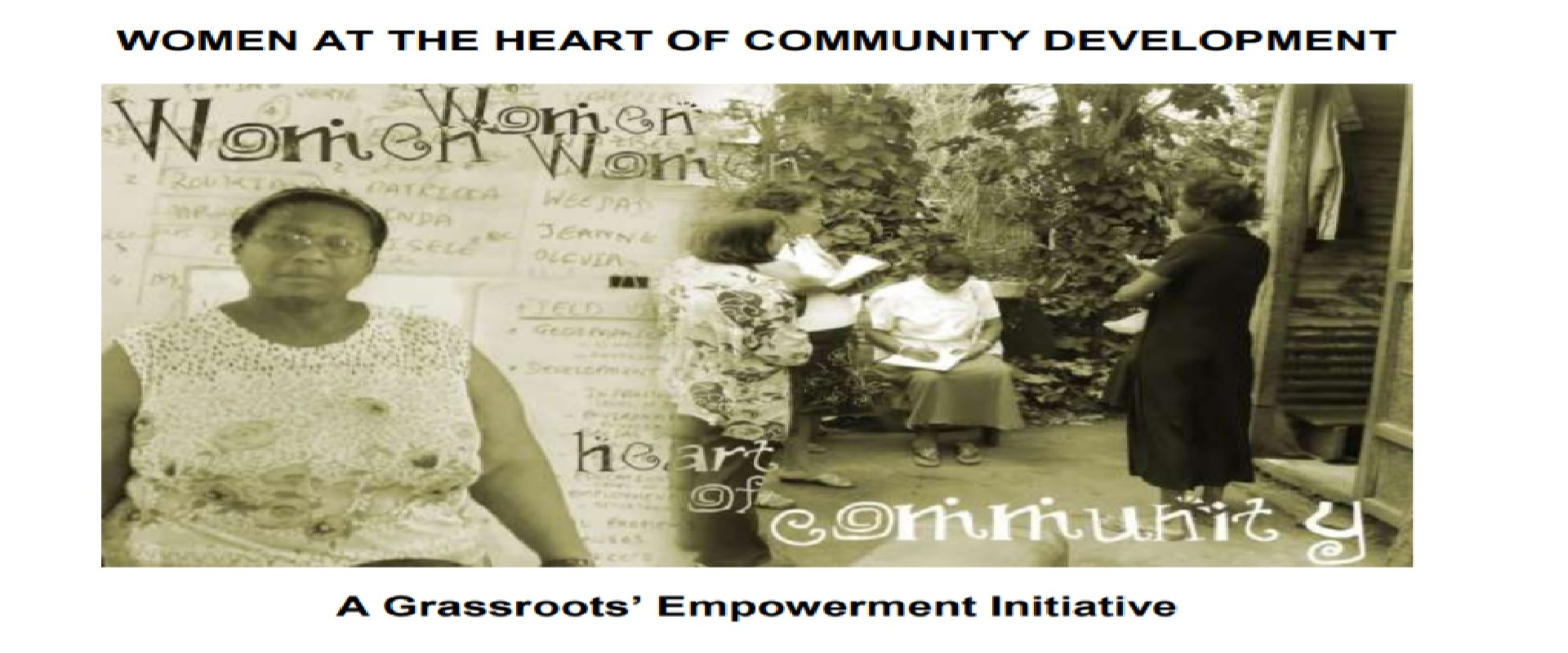 Women at the heart of community development